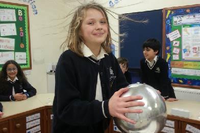 Hair Raising Electrons Workshop