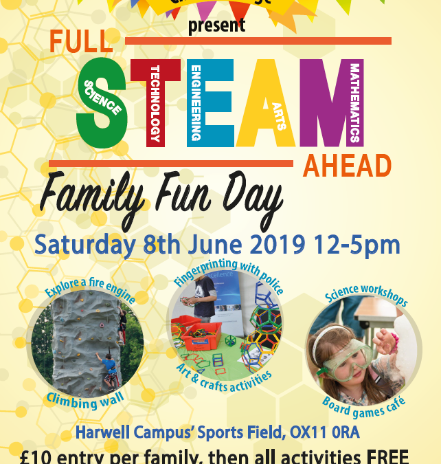 Full STEAM Ahead – Harwell Family Fun Day