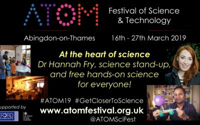Science Busking for ATOM Festival