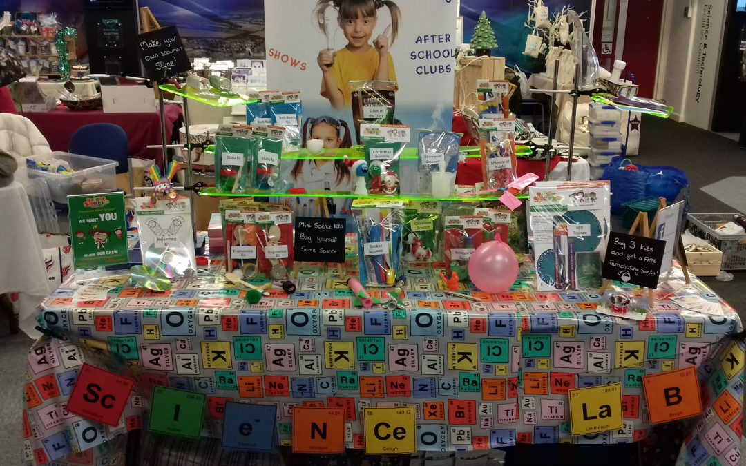Mini Science Kits for Christmas Fairs